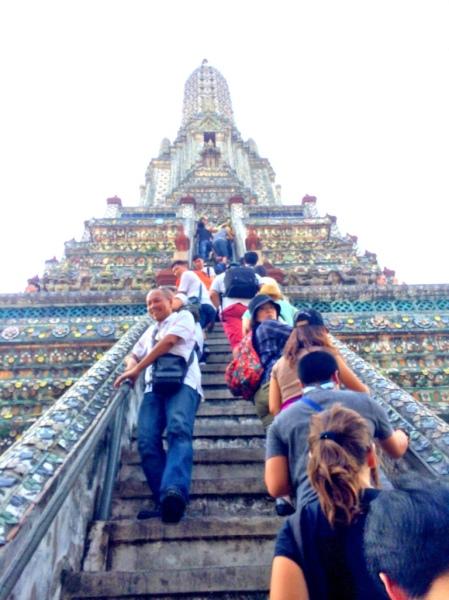 Wat Arun - Steep Steps