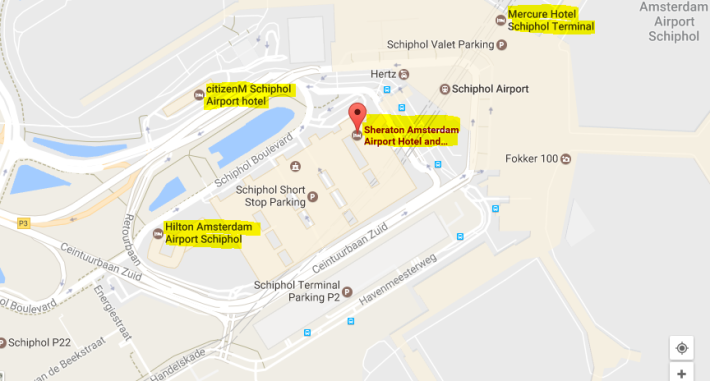 Schiphol-Hotels